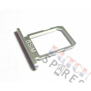 Samsung G920F Galaxy S6 Sim Card Tray Holder, White, GH64-04556B;GH64-04984B