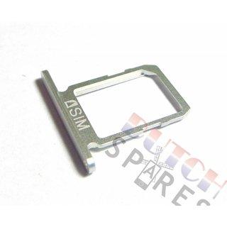 Samsung G920F Galaxy S6 Simkarten Halter, Weiß, GH64-04556B;GH64-04984B
