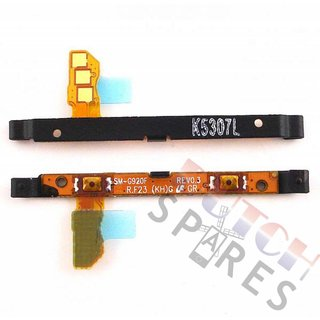 Samsung G920F Galaxy S6 Volume key flex cable, GH96-08065A