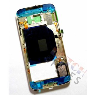 Samsung G920F Galaxy S6 Middle Cover, Gold, GH96-08583C
