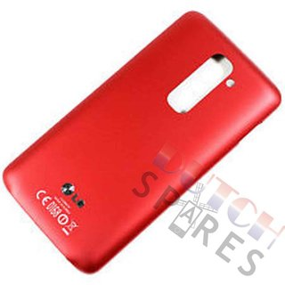 LG G2 D802 Back Cover, Red, ACQ86825314