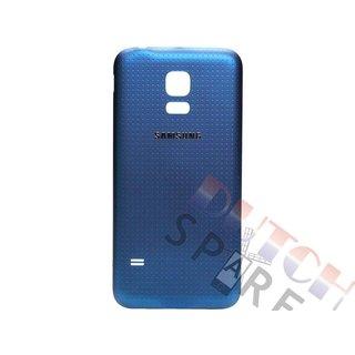 Samsung G800F Galaxy S5 Mini Accudeksel, Blauw, GH98-31984C
