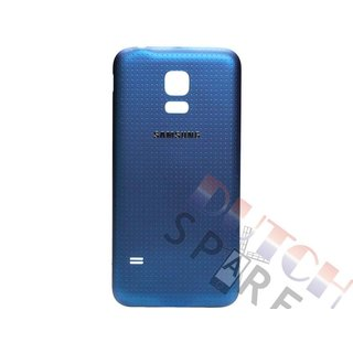 Samsung G800F Galaxy S5 Mini Battery Cover, Blue, GH98-31984C
