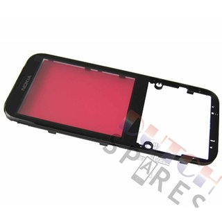 Nokia 225 Front cover incl. Display Window, Black, 02507G2