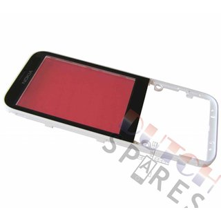 Nokia 225 Front cover incl. Display Window, White, 02507G3