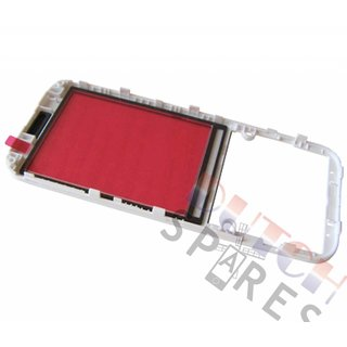 Nokia 225 Frontcover incl. Display Window, Wit, 02507G3