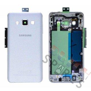 Samsung A300F Galaxy A3 Achterbehuizing, Zilver, GH96-08196C