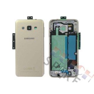 Samsung A300F Galaxy A3 Achterbehuizing, Goud, GH96-08196F