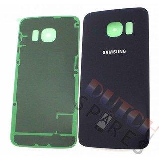 Samsung G925F Galaxy S6 Edge Akkudeckel , Schwarz, GH82-09602A