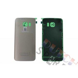 Samsung G925F Galaxy S6 Edge Akkudeckel , Gold, GH82-09602C