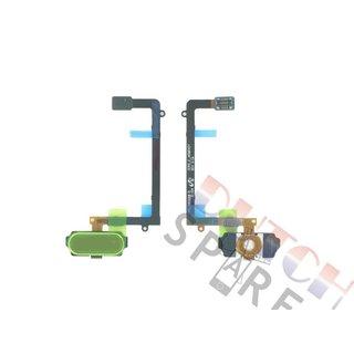 Samsung G925F Galaxy S6 Edge Home Button Flex, Black, GH96-08253A