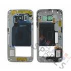 Samsung Middle Cover G925F Galaxy S6 Edge, Black, GH96-08376A