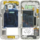 Samsung Middenbehuizing G925F Galaxy S6 Edge, wit, GH96-08376B