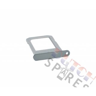 Samsung G925F Galaxy S6 Edge Sim Card Tray Holder, Silver, GH98-35872A