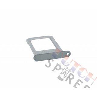 Samsung G925F Galaxy S6 Edge Simkaarthouder, Zilver, GH98-35872A