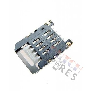 HTC Wildfire S SIM Card Reader Connector 75H00870-01M