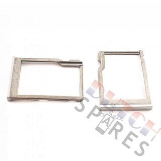 HTC One Mini 2 Memory Card Tray Holder, Silver, 72H08342-01M