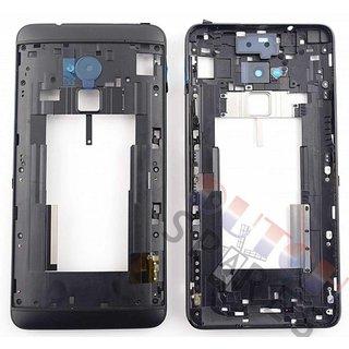 HTC One Max T6 Mittel Gehäuse, Schwarz