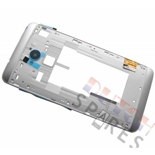 HTC One Max T6 Middenbehuizing, Wit, 74H02565-00M, 74H02565-01M