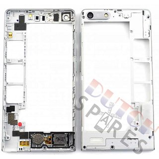 Huawei Ascend G6 Middle Cover, White