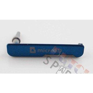 Samsung C115 Galaxy K Zoom Geheugenkaart Cover, Blauw, AD63-07928C