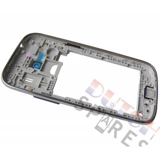Samsung G357 Galaxy Ace 4 Middenbehuizing, Grijs, GH98-33749B