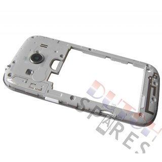 Samsung G357 Galaxy Ace 4 Middenbehuizing, Wit, GH98-33749A