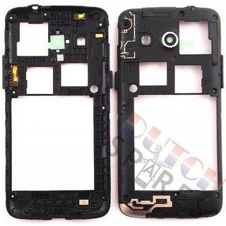Samsung G386F Galaxy Core 4G Middenbehuizing, Zwart, GH98-30926B