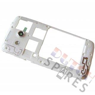 Samsung G386F Galaxy Core 4G Mittel Gehäuse, Weiß, GH98-30926A