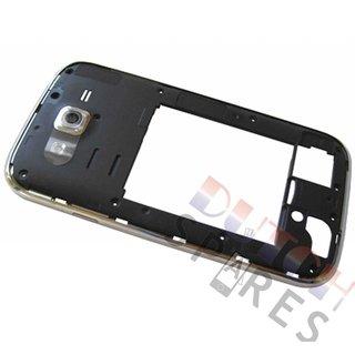 Samsung I9060 Galaxy Grand Neo Middenbehuizing, Zwart, GH98-30372B