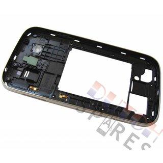 Samsung I9060 Galaxy Grand Neo Middle Cover, Black, GH98-30372B