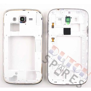 Samsung I9060 Galaxy Grand Neo Mittel Gehäuse, Weiß, GH98-30372A