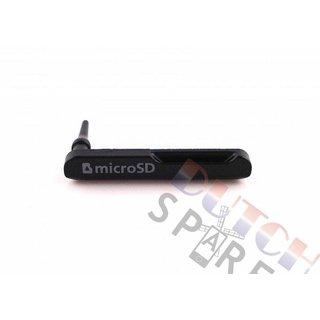 Samsung Galaxy Tab 4 10.1 T530 Memory Card Cover, Black, GH63-06176A