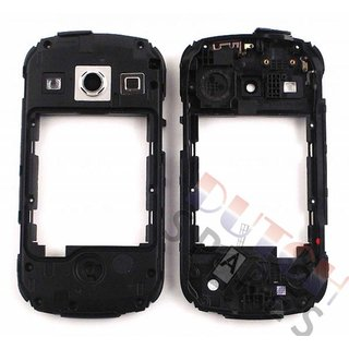 Samsung S7710 Galaxy Xcover 2 Middenbehuizing, Zwart