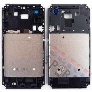 Sony Xperia E3 Mittel Gehäuse, Schwarz, A/402-59080-0002