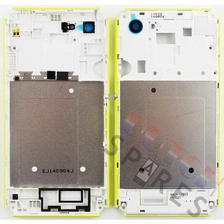 Sony Xperia E3 Middle Cover, Lime, A/402-59080-0004