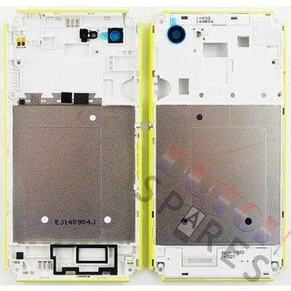 Sony Xperia E3 Mittel Gehäuse, Lime, A/402-59080-0004
