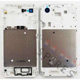 Sony Xperia E3 Middenbehuizing, Wit, A/402-59080-0001