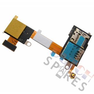 Sony Xperia M2 D2303, D2305, D2306 Simkarten Leser, 78P7170002N