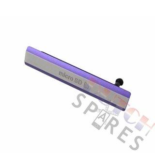 Sony Xperia Z2 Speicherkarten Abdeckung, Violett, 1284-6794