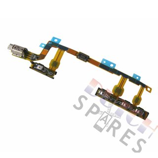 Sony Xperia Z3 Compact Power + Volume key flex cable, 1281-6827