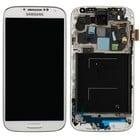 Samsung Galaxy S IV /S4 i9505 Internal Screen + Touchscreen + Frame White GH97-14655A;GH97-14694A