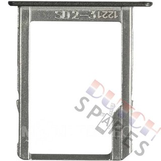 Samsung A500F Galaxy A5 Speicherkarten Halter, Schwarz, GH61-08201B