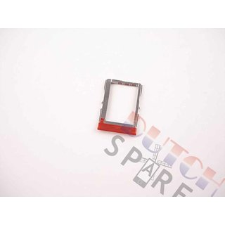 HTC One Mini (M4) Sim Card Tray Holder, Red
