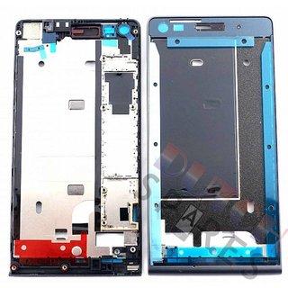 Huawei Ascend G6 Front Cover Rahmen, Schwarz