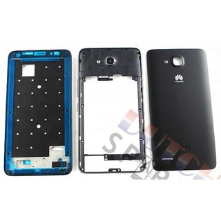 Huawei Ascend G750 Gehäuse, Schwarz