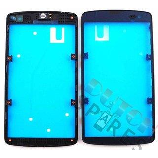 LG D290N L Fino Front Cover Rahmen, Schwarz, ACQ87617501