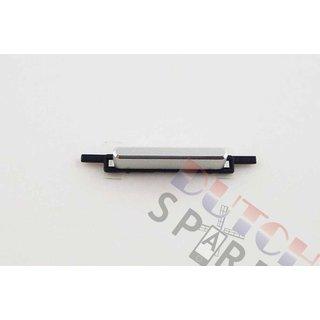 Samsung G850F Galaxy Alpha Aan/Uit Button, Silver, GH98-34516A