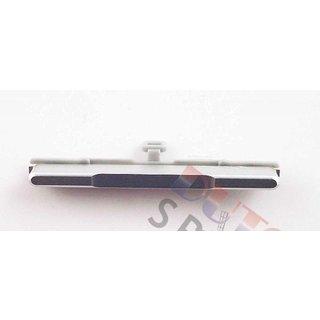 Samsung G850F Galaxy Alpha Laut/Leise Knopf, Silver, GH98-34517A