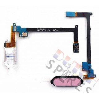 Samsung N910F Galaxy Note 4 Home Taste Flex Kabel , Rosa, GH96-07432D